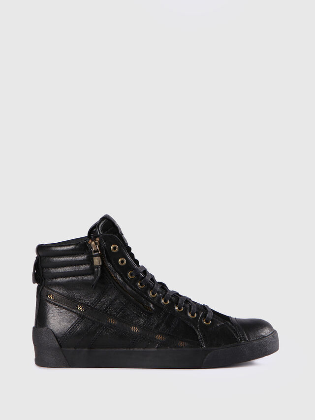 Diesel - D-STRING PLUS, Nero - Sneakers - Image 1