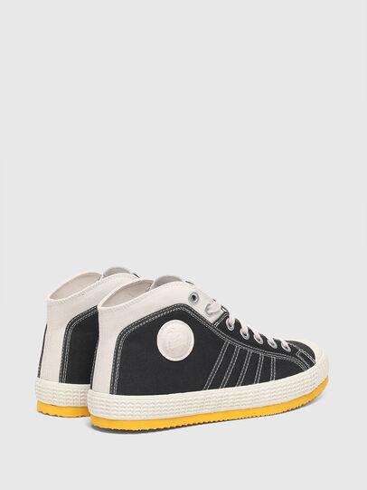 Diesel - S-YUK MC, Nero/Giallo - Sneakers - Image 3