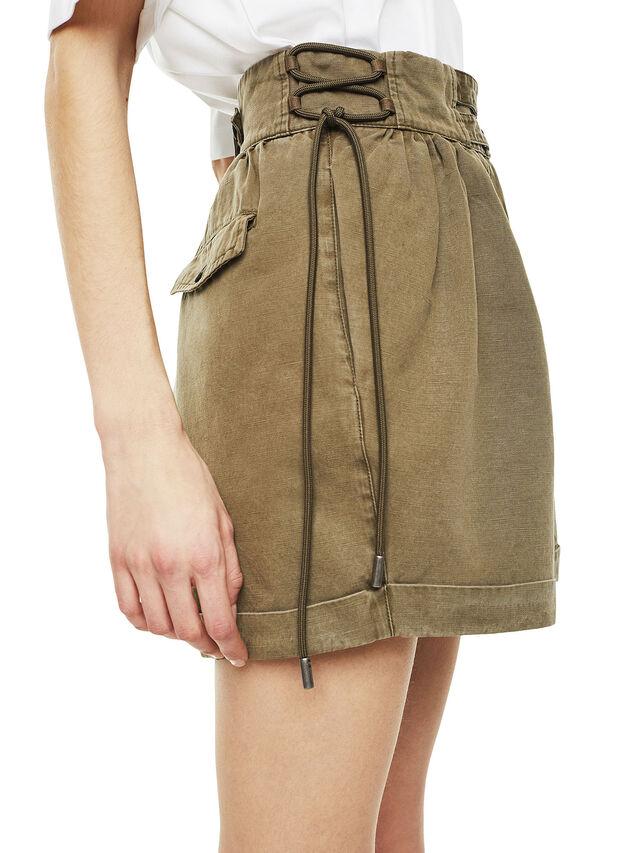Diesel - SIMONY, Verde Militare - Shorts - Image 4