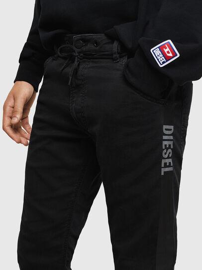 Diesel - Krooley JoggJeans 069JH, Nero/Grigio scuro - Jeans - Image 3