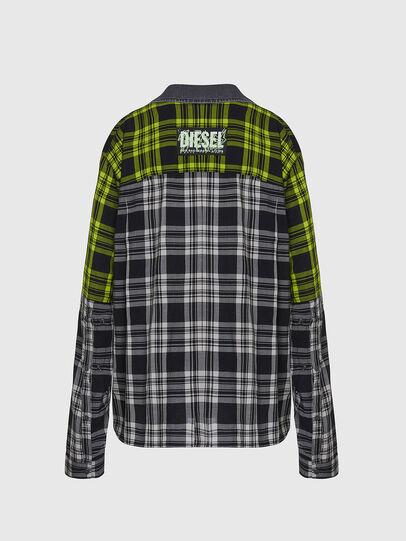 Diesel - C-NILLA, Nero/Bianco - Camicie - Image 2