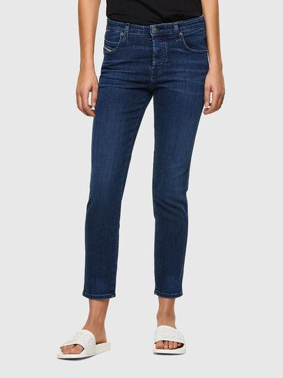 Diesel - Babhila 009QI, Blu Scuro - Jeans - Image 1