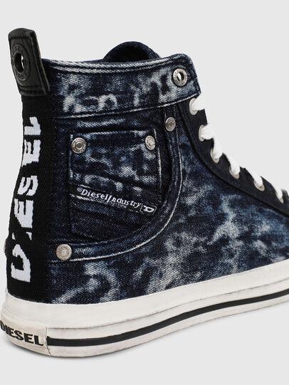 Diesel - EXPOSURE I, Blu Scuro - Sneakers - Image 4