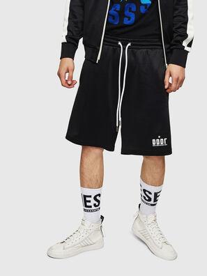P-MIKHAIL, Nero - Shorts