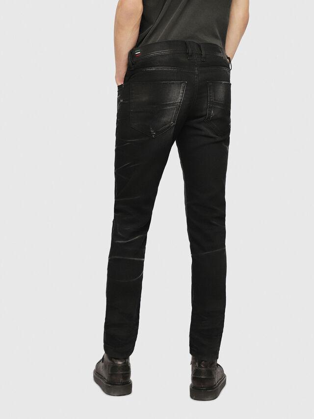 Diesel - Tepphar 0090P, Nero/Grigio scuro - Jeans - Image 2