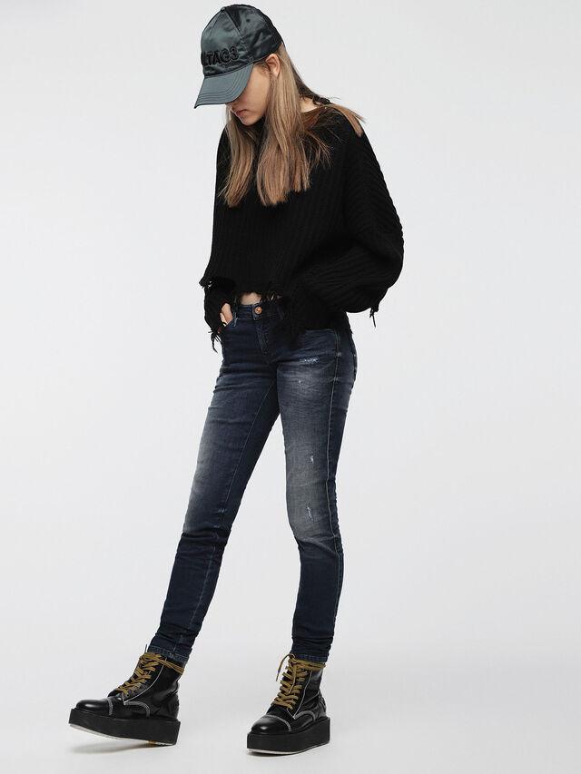 Diesel Gracey JoggJeans 0686W, Blu Scuro - Jeans - Image 3