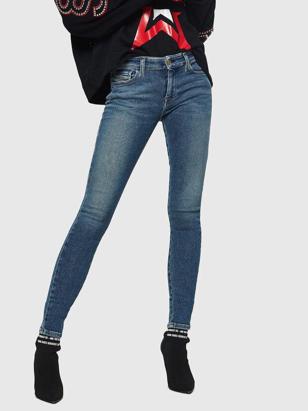Slandy 083AL, Blu medio - Jeans