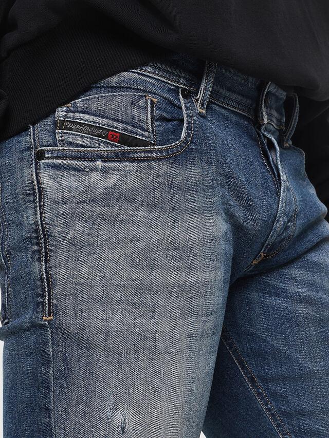 Diesel - Sleenker 069FI, Blu medio - Jeans - Image 3