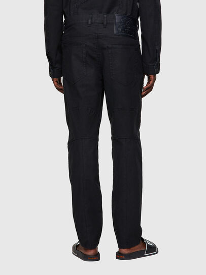 Diesel - D-VIDER JoggJeans® 0DDAX, Nero/Grigio scuro - Jeans - Image 2