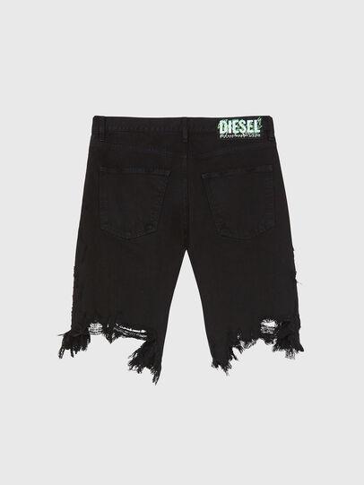 Diesel - D-KRASY, Nero - Shorts - Image 2