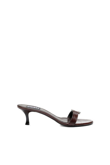 Sandali in pelle stampa cocco