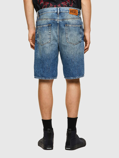 Diesel - D-STRUKT-SHORT, Blu Chiaro - Shorts - Image 2