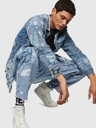 Diesel - D-HARU-SY, Blu Jeans - Tute e Salopette - Image 3