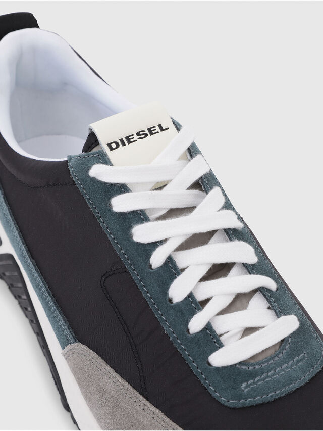 Diesel - S-KB LOW LACE, Grigio/Blu - Sneakers - Image 5