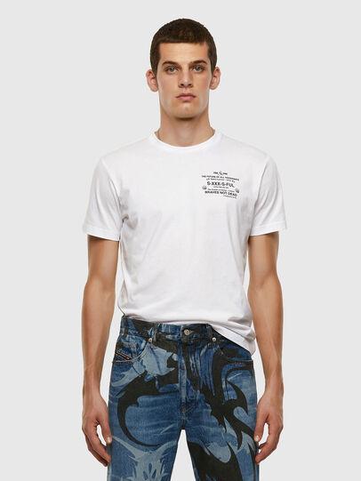 Diesel - T-DIEGOS-X44, Bianco - T-Shirts - Image 5