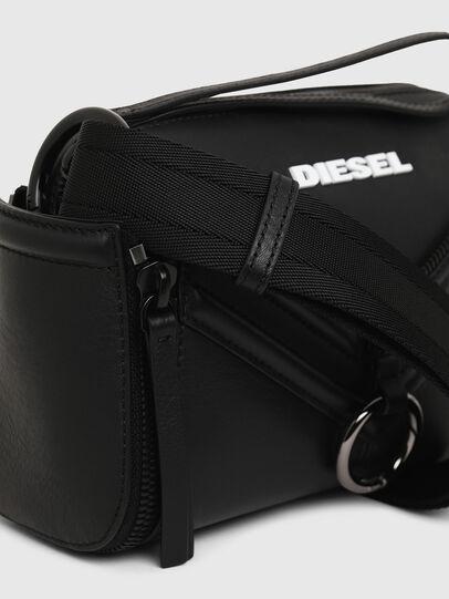 Diesel - LE-ZIPPER CROSSBODY, Nero - Borse a tracolla - Image 6