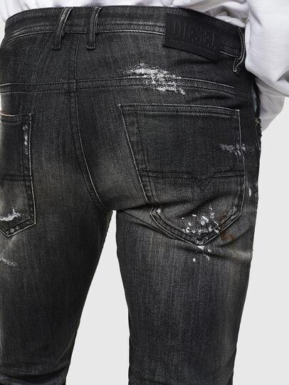 Diesel - Thommer JoggJeans 0098E, Nero/Grigio scuro - Jeans - Image 6