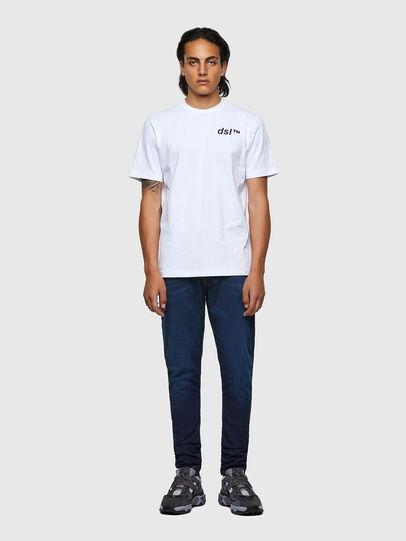 Diesel - T-JUST-B56, Bianco - T-Shirts - Image 4