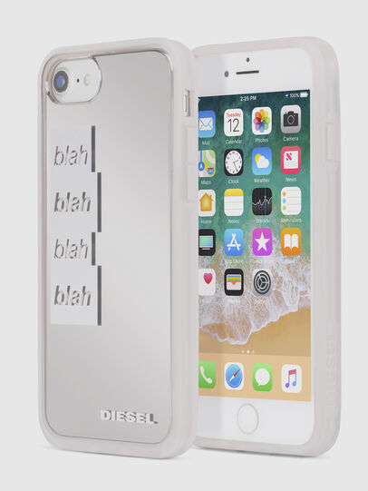 Diesel - BLAH BLAH BLAH IPHONE 8 PLUS/7 PLUS/6s PLUS/6 PLUS CASE, Bianco - Cover - Image 1