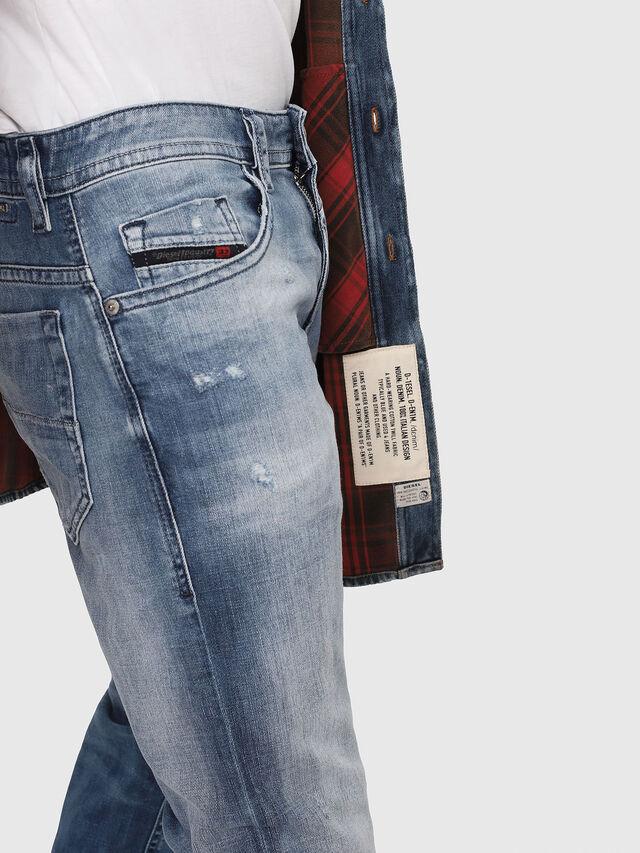Diesel - Thommer 081AS, Blu medio - Jeans - Image 4