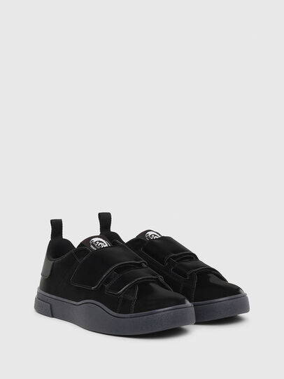 Diesel - S-CLEVER LOW STRAP W, Nero - Sneakers - Image 2