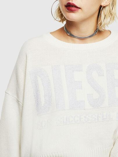 Diesel - M-LUREXY, Bianco - Maglieria - Image 3