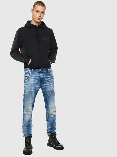 Diesel - Krooley JoggJeans 087AC, Blu medio - Jeans - Image 6