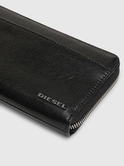 Diesel - 24 ZIPOCKET, Blu/Nero - Portafogli Con Zip - Image 4