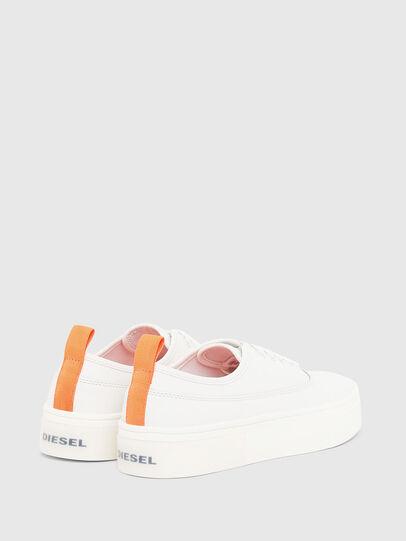 Diesel - S-VANEELA LOW, Bianco/Arancione - Sneakers - Image 3