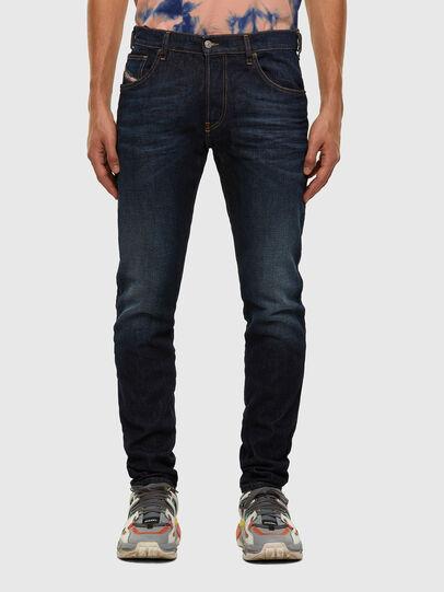 Diesel - D-Yennox 009EQ, Blu Scuro - Jeans - Image 1