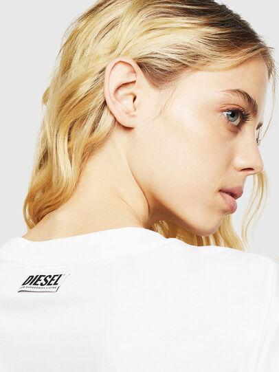 Diesel - T-DARIA-Y, Bianco - T-Shirts - Image 5