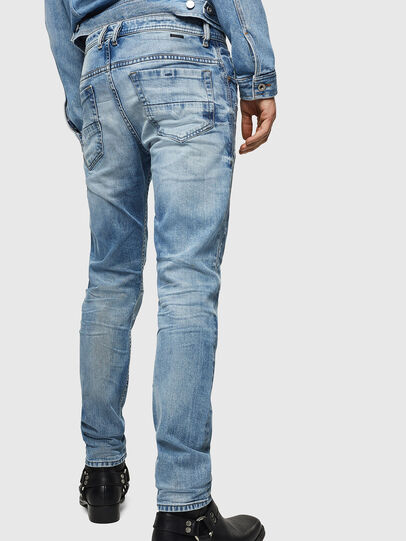 Diesel - Thommer 0092F, Blu Chiaro - Jeans - Image 2