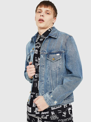 D-BRAY, Blu Jeans - Giacche in denim