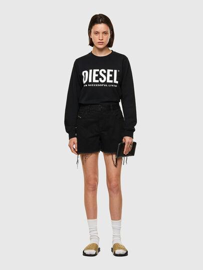 Diesel - DE-REG-R, Nero - Shorts - Image 5