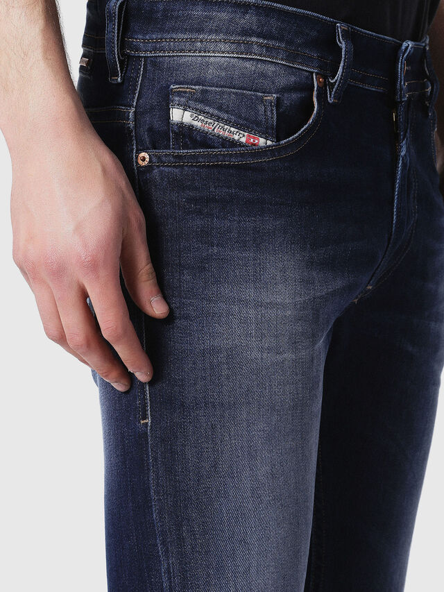 Diesel - Thommer 0860L, Blu Scuro - Jeans - Image 4