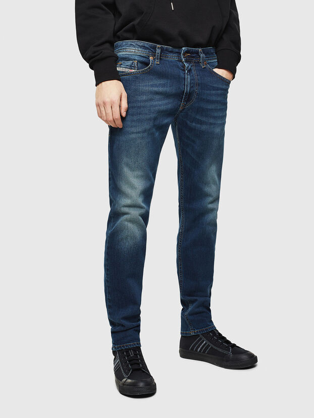 Thommer 084BU, Blu Scuro - Jeans