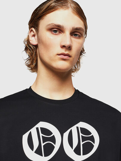 Diesel - TEORIALE-X2, Nero - T-Shirts - Image 3