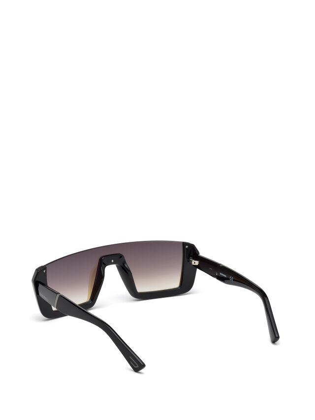 Diesel - DL0248, Nero Brillante - Occhiali da sole - Image 2