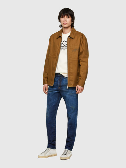 Diesel - D-Fining 009NG, Blu Scuro - Jeans - Image 5