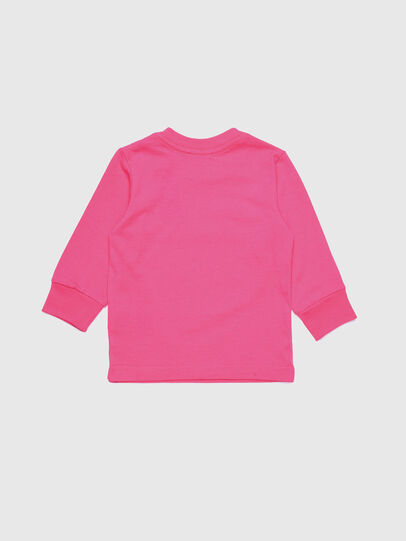 Diesel - TJUSTDIVISIONB ML, Fucsia - T-shirts e Tops - Image 2