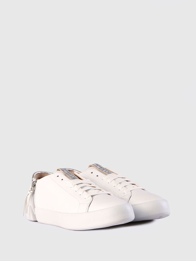 Diesel - S-NENTISH LC W, Bianco - Sneakers - Image 3