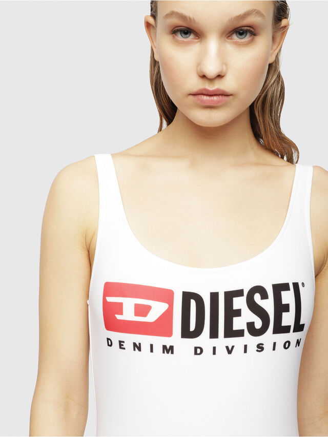 Diesel - BFSW-FLAMNEW, Bianco Vivo - Costumi - Image 3