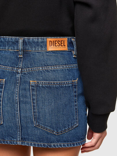 Diesel - DE-EISY, Blu medio - Gonne - Image 4
