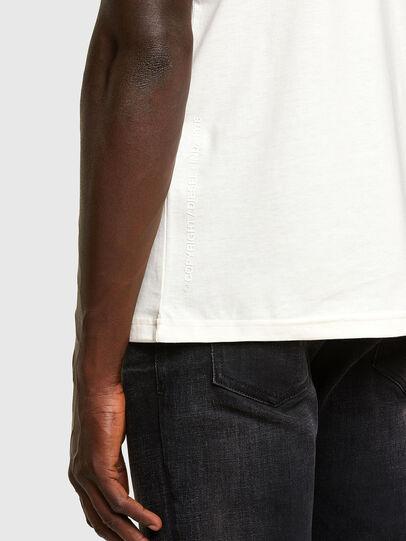 Diesel - T-DORYMO-A1, Bianco - T-Shirts - Image 3