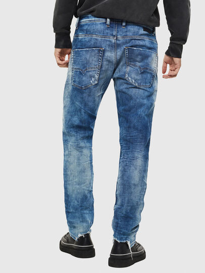 Diesel - Krooley JoggJeans 087AC, Blu medio - Jeans - Image 2