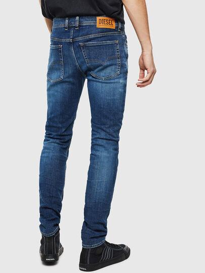 Diesel - Sleenker 0097T, Blu Scuro - Jeans - Image 2
