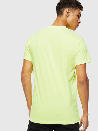 Diesel - T-DIEGO-J4, Giallo Fluo - T-Shirts - Image 3