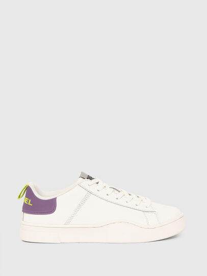 Diesel - S-CLEVER LOW LACE W, Bianco/Viola - Sneakers - Image 1