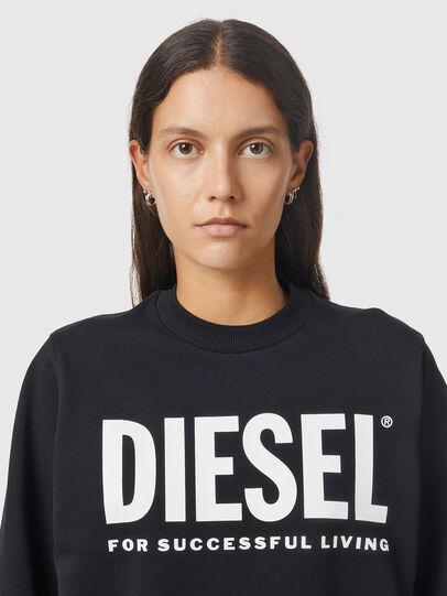 Diesel - F-ANG, Nero/Bianco - Felpe - Image 3