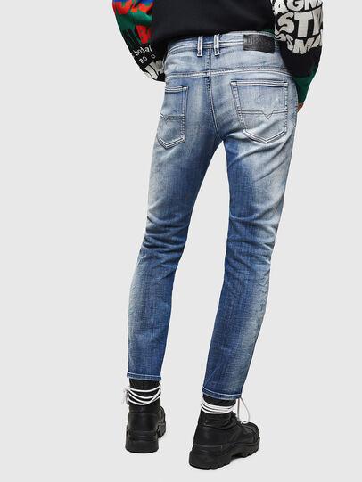 Diesel - Thommer JoggJeans 0870N, Blu medio - Jeans - Image 2